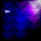 Vector abstract background. triangle geometric Stock Photo