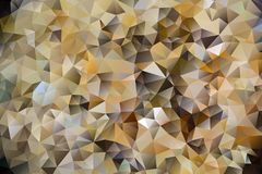 Vector abstract background of triangles. Vector multicolored abstract background of effect geometric triangles Royalty Free Stock Photography