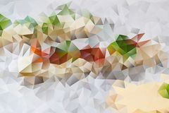 Vector abstract background of triangles Royalty Free Stock Photo