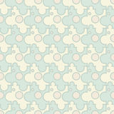 Vector abstract background - vintage seamless puzz. Le light pattern vector illustration