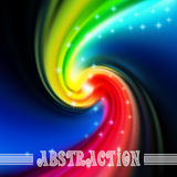 Vector abstract background with waves Royalty Free Stock Photography