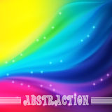 Vector abstract background with waves Stock Photography