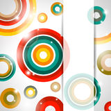 Vector abstract banner Royalty Free Stock Photo