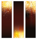 Vector abstract  banners. Stock Photography