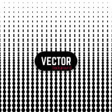 Vector abstract black and white metaball gradient background. Halftone effect. Useful for wrapping, wallpapers and web backgrounds stock illustration