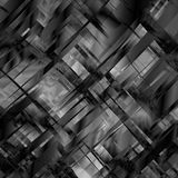 Vector abstract blackandwhite metal glitch background for design. Eps10 Stock Photo