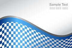 Vector Abstract blue background Royalty Free Stock Photos