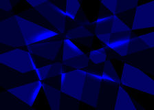 Vector abstract blue background royalty free illustration