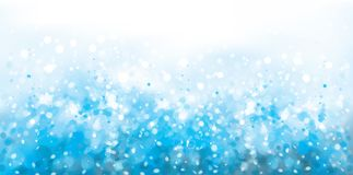 Vector abstract, blue, sparkle background. Vector abstract, blue, sparkle background, Christmas lights and stars vector illustration
