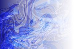 Vector abstract blue to white shaded wavy background, wallpaper. Vector abstract blue to white shaded stream line wavy background, wallpaper for many uses Stock Image