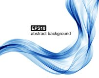Abstract blue waves background. Royalty Free Stock Images