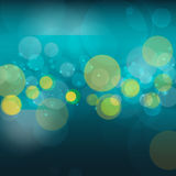 Vector abstract bokeh blur background. Festive defocused lights. Design illustraton graphic for summer party and holiday vacation Royalty Free Stock Photography