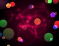 Abstract bokeh lights background Stock Photos