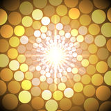 Vector abstract bright background with circles Royalty Free Stock Image