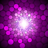 Vector abstract bright background with circles Stock Photos