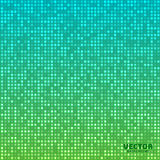 Vector abstract bright mosaic gradient background blue green Royalty Free Stock Image