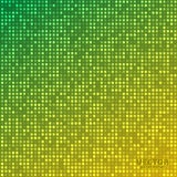 Vector abstract bright mosaic gradient green yellow background. Suitable for wallpaper, web background, and presentations. EPS10 Stock Photo
