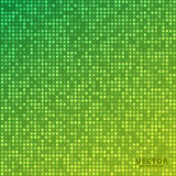 Vector abstract bright mosaic gradient green yellow background. Suitable for wallpaper, web background, and presentations. EPS10 Royalty Free Stock Photography