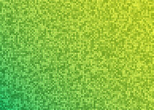 Vector abstract bright mosaic gradient green yellow background. Suitable for wallpaper, web background, and presentations. EPS10 Stock Image