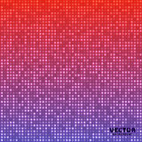 Vector abstract bright mosaic gradient purple pink background Royalty Free Stock Image