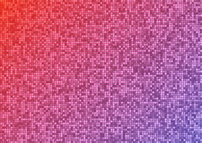 Vector abstract bright mosaic gradient purple pink background Stock Photos
