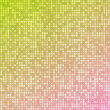 Vector abstract bright mosaic gradient yellow pink background Royalty Free Stock Photo