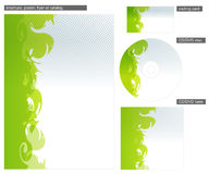 Vector abstract brochure background Stock Images