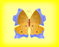 Vector abstract butterfly Stock Image