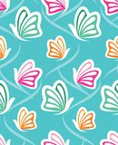 Vector abstract butterfly pattern Stock Photo