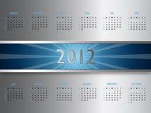 Vector abstract calendar 2012. Beautiful illustration vector illustration