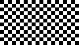 Vector Abstract check Pattern Black & White Background. royalty free illustration