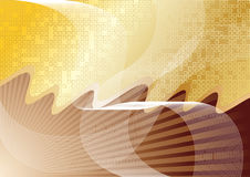 Vector abstract chocolate background Stock Images