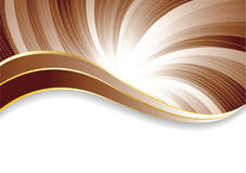 Vector abstract chocolate background royalty free stock image