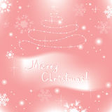 vector abstract christmas background Stock Image