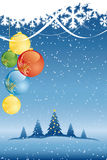 Vector Abstract Christmas Background Royalty Free Stock Photography