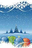 Vector Abstract Christmas Background Stock Photos