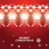 Vector abstract Christmas banner Stock Photos