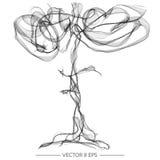 Vector Abstract Cijfer Stock Afbeeldingen