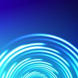 Vector abstract circle blue background Stock Photos