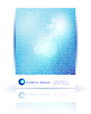 Vector abstract circle and wave. Stock Images