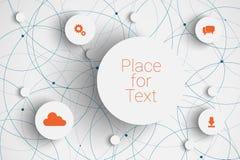 Vector abstract circles Stock Photo