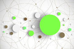 Vector abstract circles Stock Images
