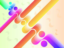 Vector abstract coloful stripes background Royalty Free Stock Photo