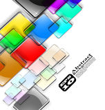 The vector abstract color background Stock Image