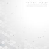 Vector abstract color 3d hexagonal Royalty Free Stock Photo