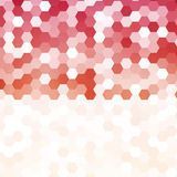 Vector abstract color 3d hexagonal Royalty Free Stock Image