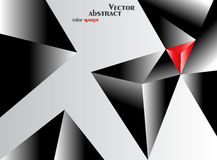 Vector abstract color nuance. Background Stock Image