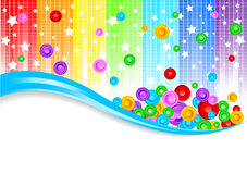 Vector abstract colorful background Royalty Free Stock Images
