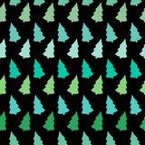 Vector abstract with colorful Christmas tree Stock Images