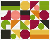 Vector abstract colorful geometric background Royalty Free Stock Photo
